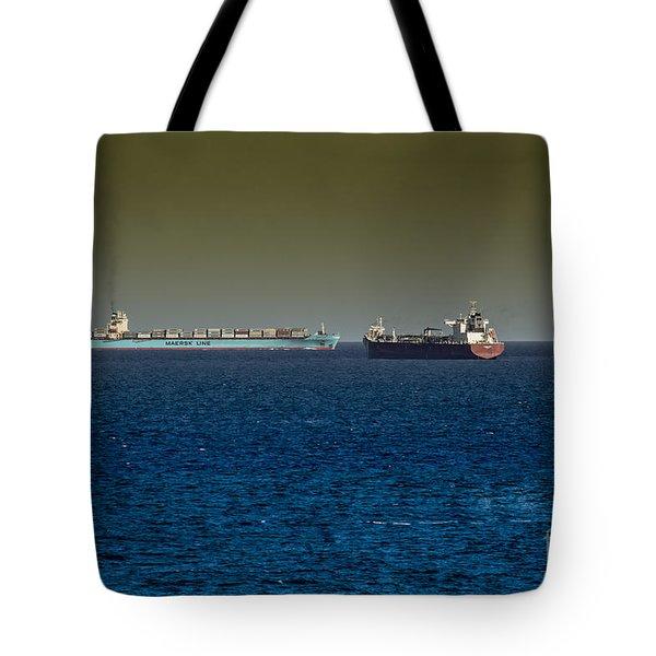 Cargo Steamer  Tote Bag