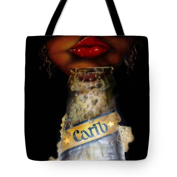 Carib Beer Tote Bag