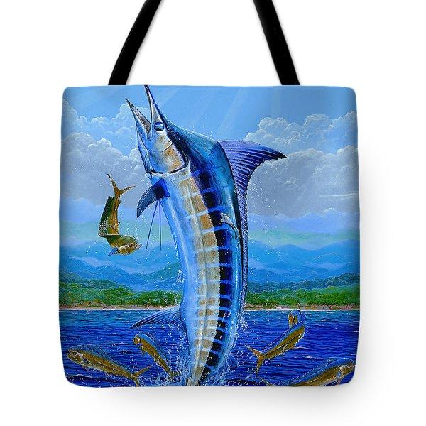Caribbean Blue Off0041 Tote Bag