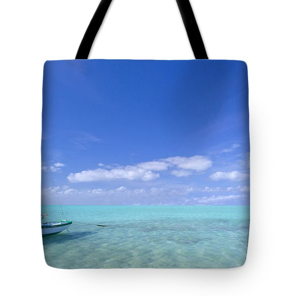Caribbean Chill Time Tote Bag by Marco Crupi
