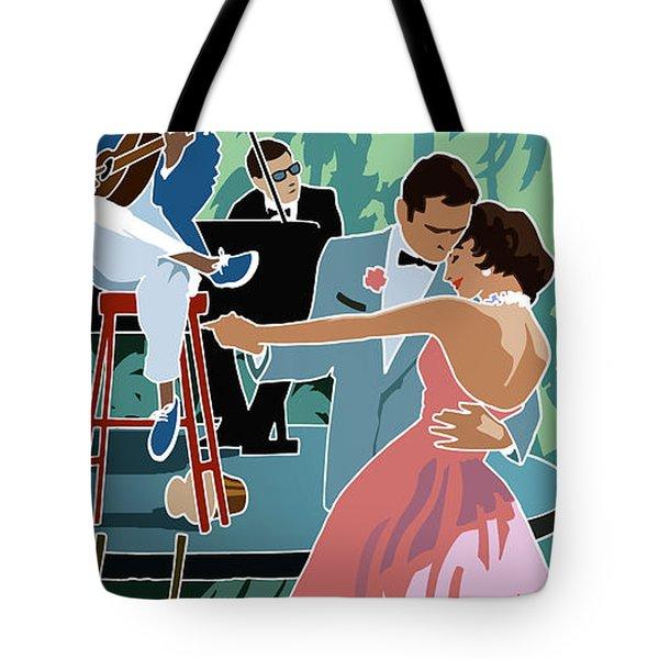 Caribbean Moon Tote Bag