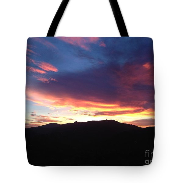 Caribbean Morning Tote Bag
