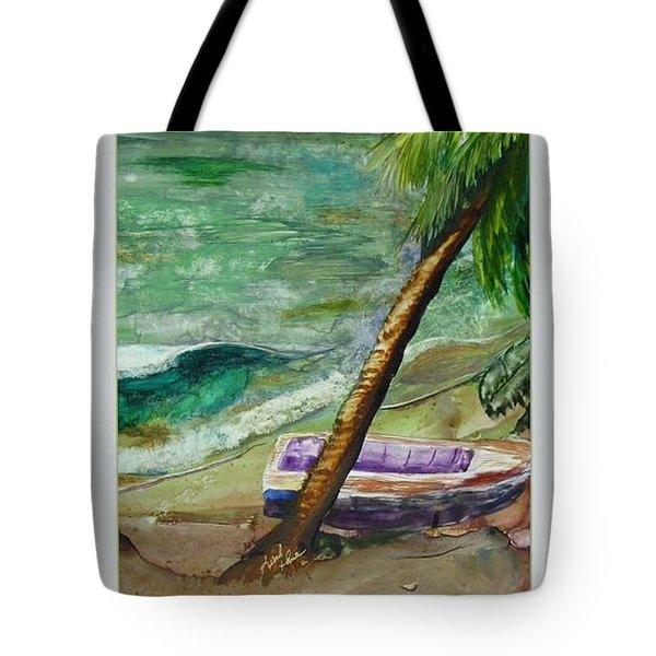 Caribbean Morning II Tote Bag