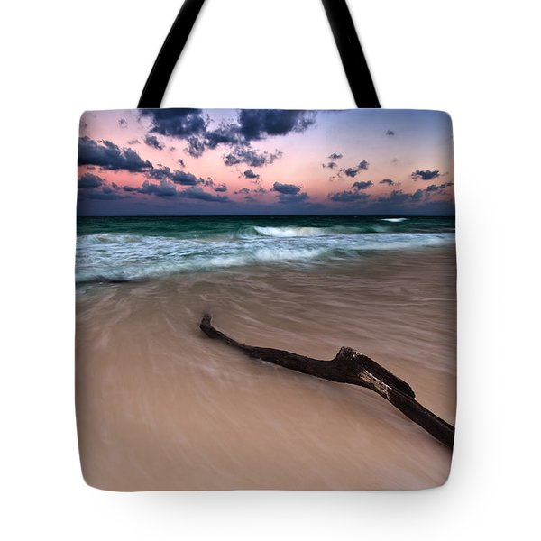 Tote Bag featuring the photograph Caribbean Sunset by Mihai Andritoiu