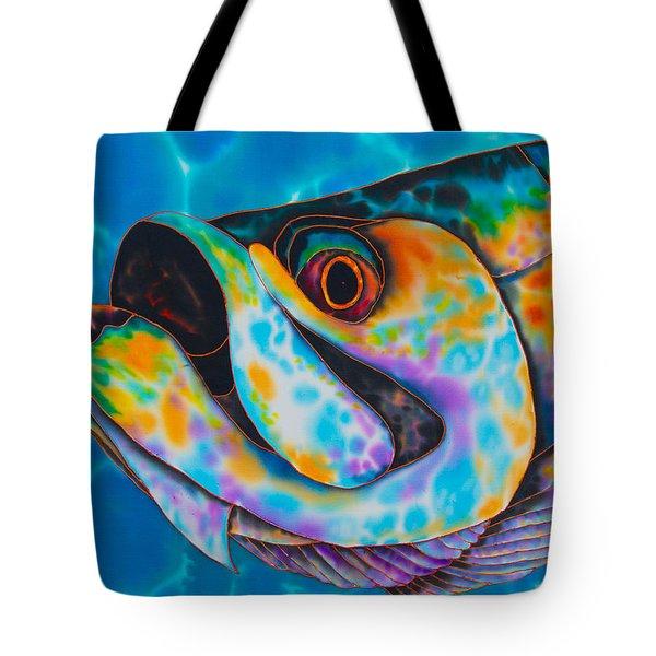 Caribbean Tarpon Fish Tote Bag