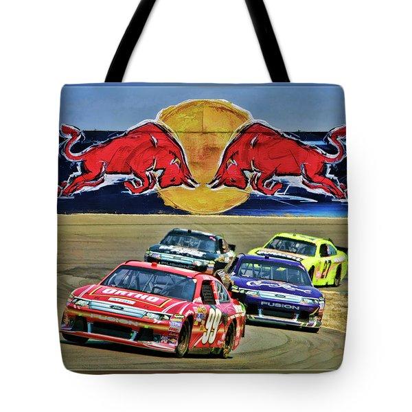 Carl Edwards Tote Bag