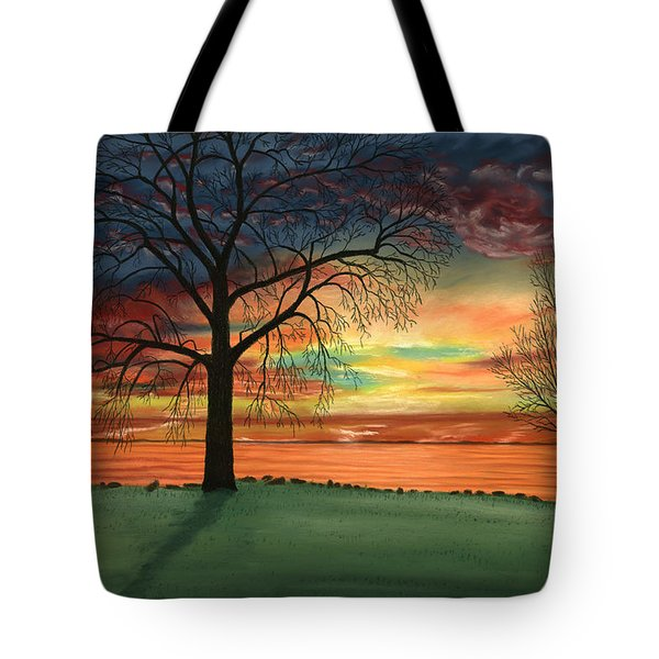 Carla's Sunrise Tote Bag