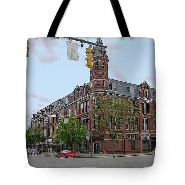 Carlisle Building -  A Chillicothe Landmark Tote Bag