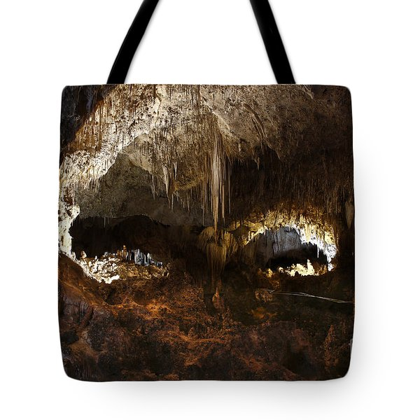 Carlsbad Caverns #3 Tote Bag by Kathy McClure