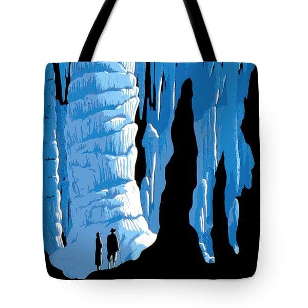 Carlsbad Caverns National Park Vintage Poster Tote Bag