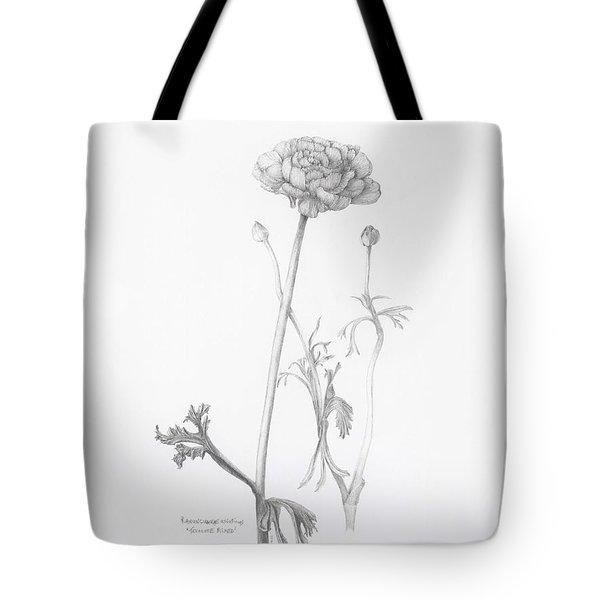 Carlsbad Ranunculus Tote Bag