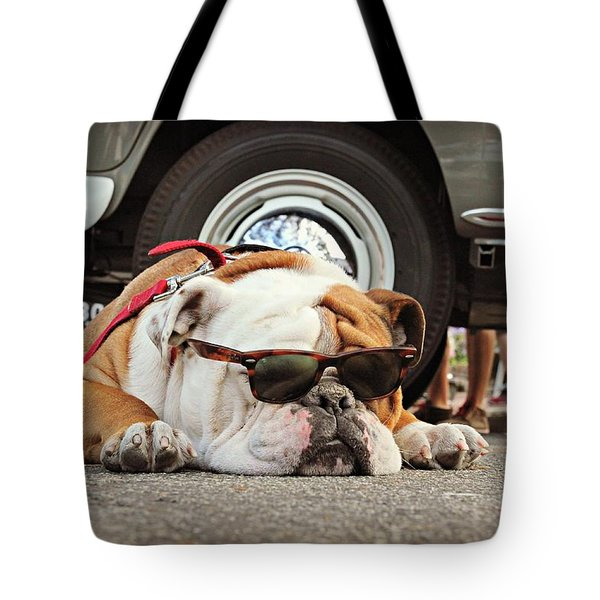 Carmel Cool Dog Tote Bag