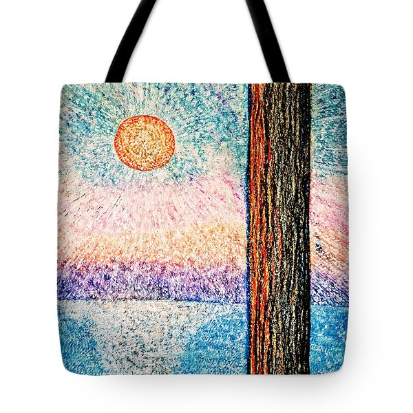 Carmel Highlands Sunset Tote Bag by Joseph J Stevens