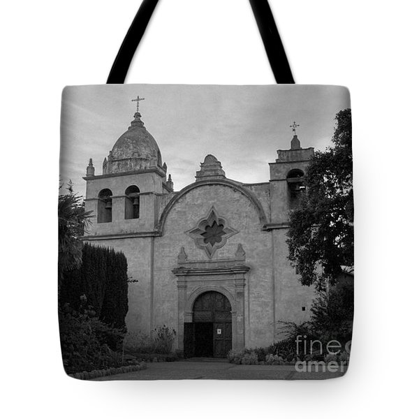 Carmel Mission Tote Bag by James B Toy