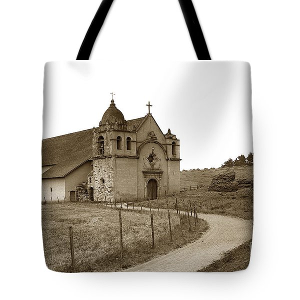 Carmel Mission Monterey Co. California Circa 1890 Tote Bag