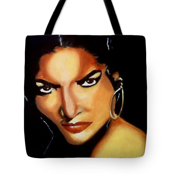 Carmen - Original Painting  Tote Bag
