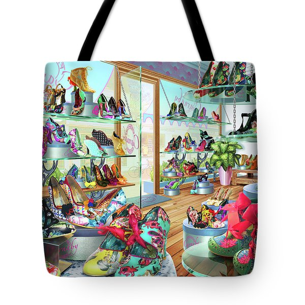 Carnaby Shoe Shop Tote Bag