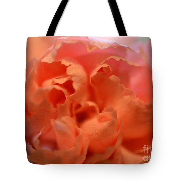 Tote Bag featuring the photograph Carnation Burst by Denise Tomasura