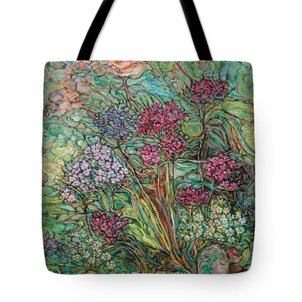 Carnations And A Rose Tote Bag