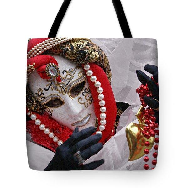 Carnevale Di Venezia  1 Tote Bag by Rudi Prott