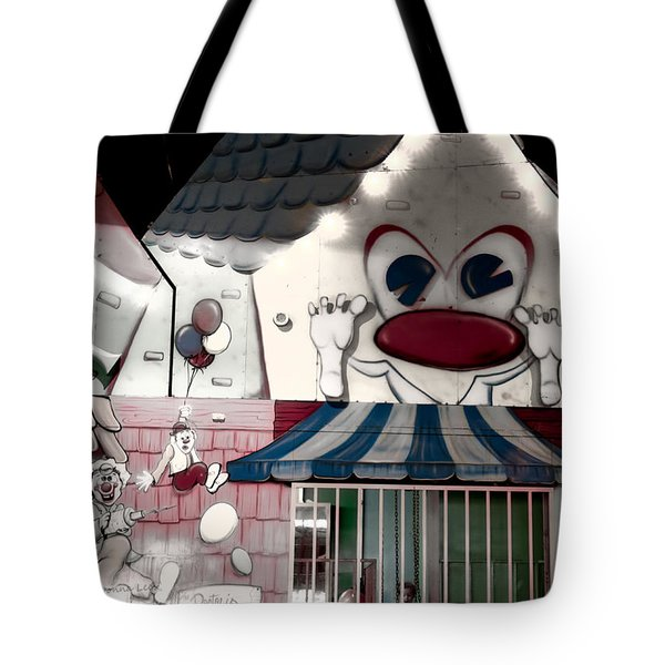 Carnival Fun House Tote Bag