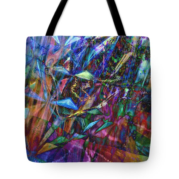 Tote Bag featuring the photograph Carnival by Nareeta Martin