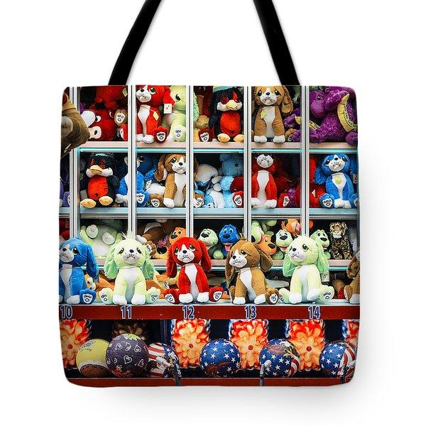 Carnival Prizes Tote Bag by John Greim