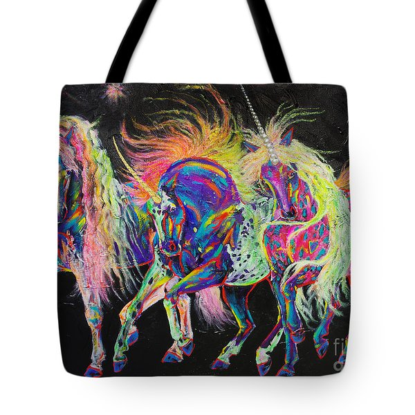 Carnivale Tote Bag by Louise Green