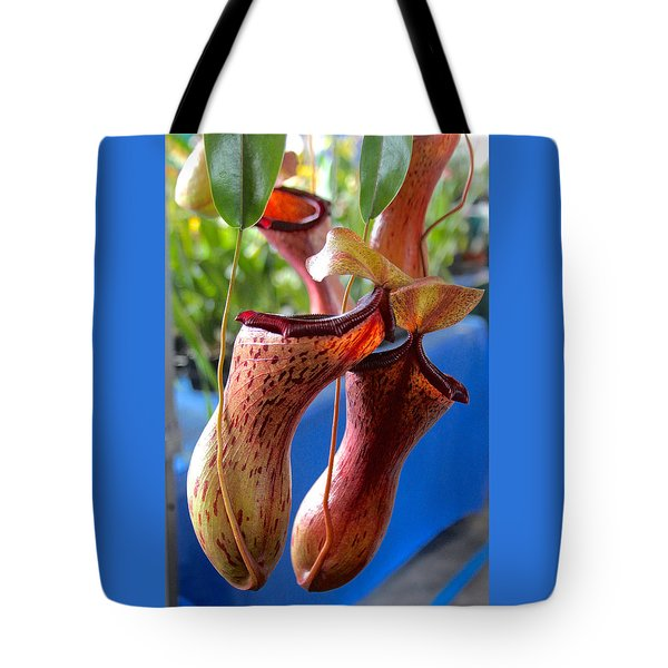 Carnivorous Pitcher Plants Tote Bag