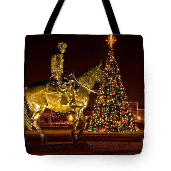 Tote Bag featuring the photograph Carol Of Lights by Mae Wertz