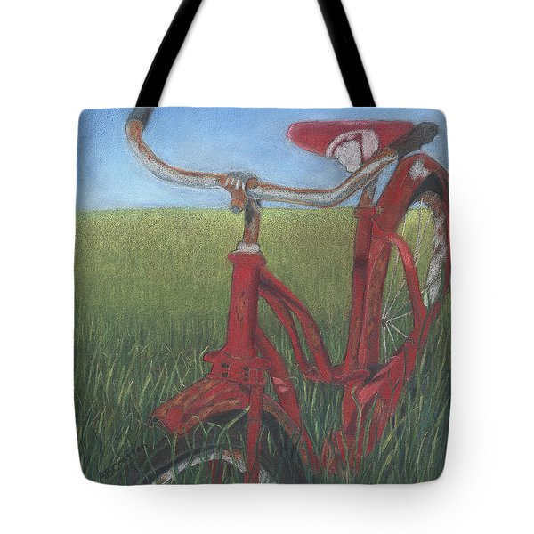 Carole's Bike Tote Bag