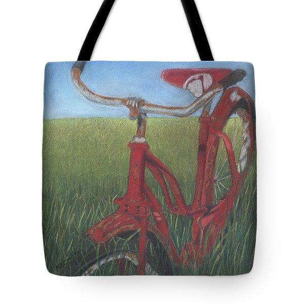 Carole's Bike Tote Bag