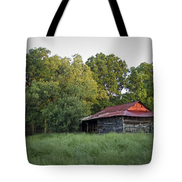 Carolina Horse Barn Tote Bag