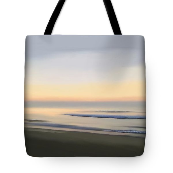 Tote Bag featuring the digital art Carolina Morning Glory by Anthony Fishburne