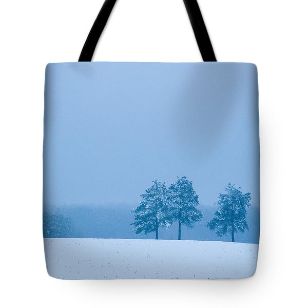 Carolina Snow Tote Bag