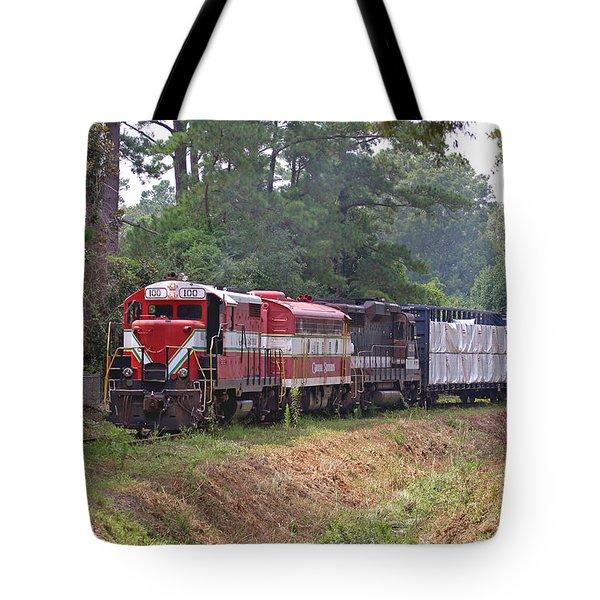 Carolina Southern Railroad Tote Bag