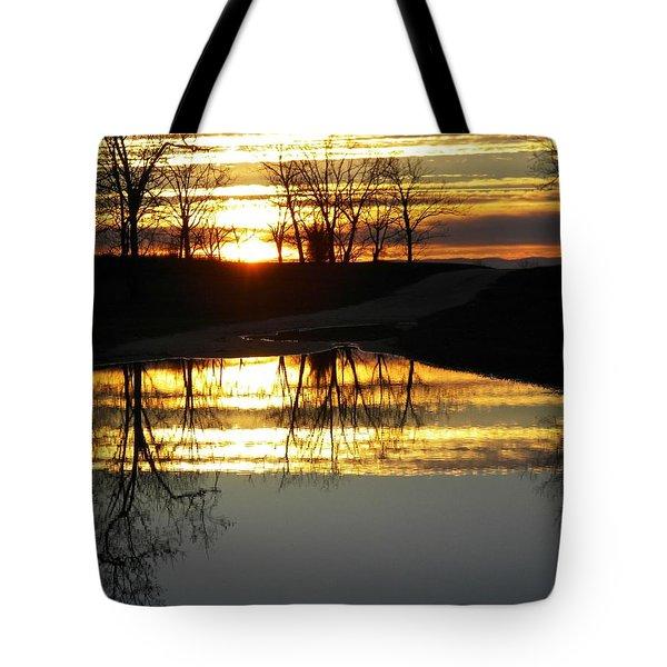Carolina Sunrise Tote Bag