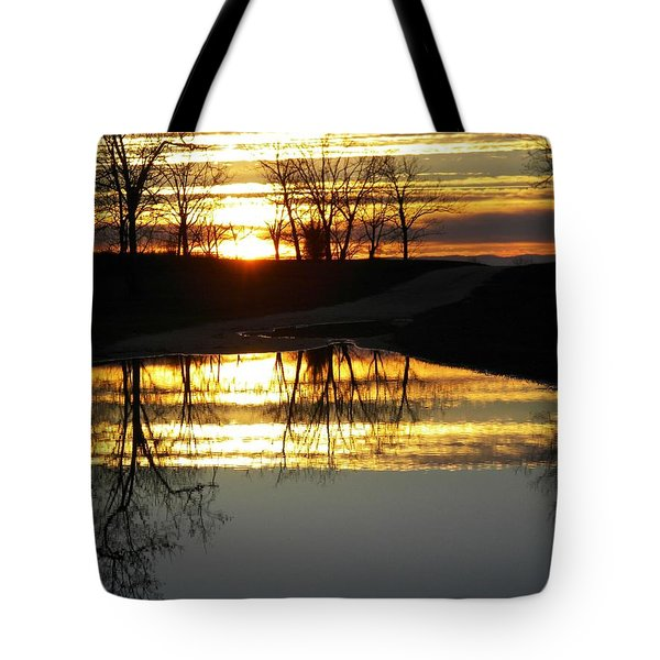 Carolina Sunrise Tote Bag