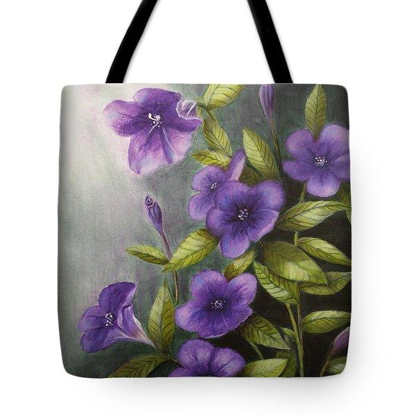 Carolina Wild Petunia Ruellia Caroliniensis Tote Bag