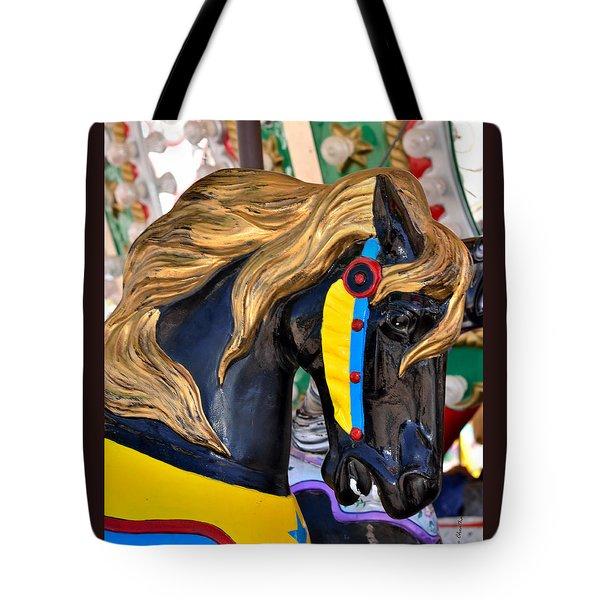 Carousal Horses - 2 Tote Bag
