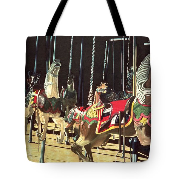 Carousel Tote Bag by Anthony Butera