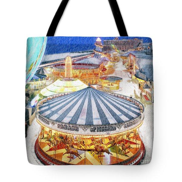 Carousel Waltz Tote Bag