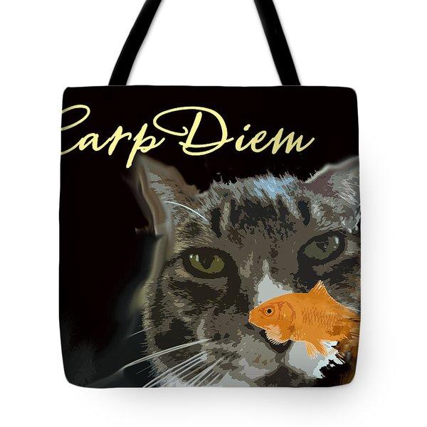 Carp Diem Tote Bag