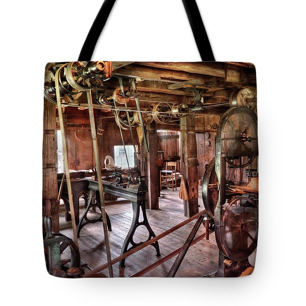 Carpenter - This Old Shop Tote Bag