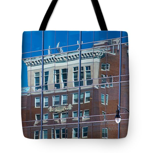 Carpenters Building Tote Bag