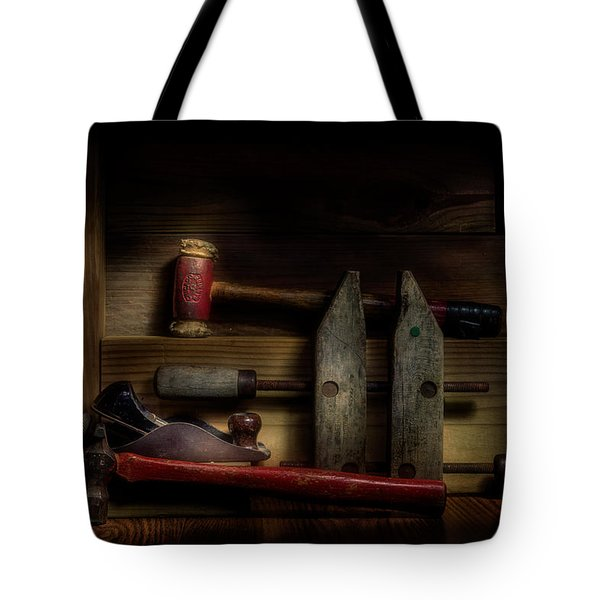 Carpentry Still Life Tote Bag