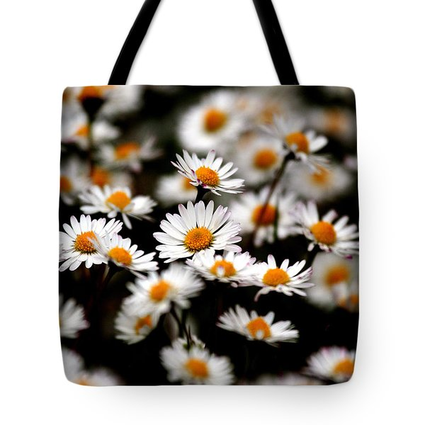 Carpet Of Daisies Tote Bag