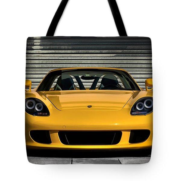 Porsche, Carrera Gt Tote Bag