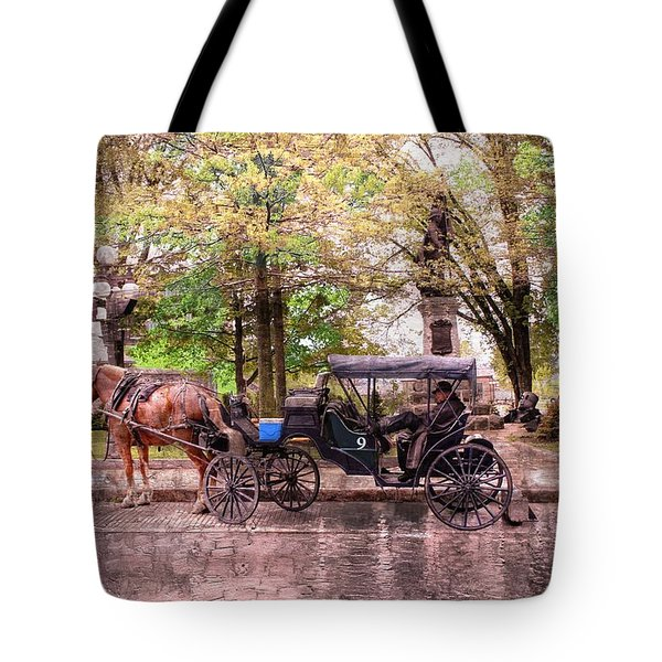 Carriage Rides Series 03 Tote Bag