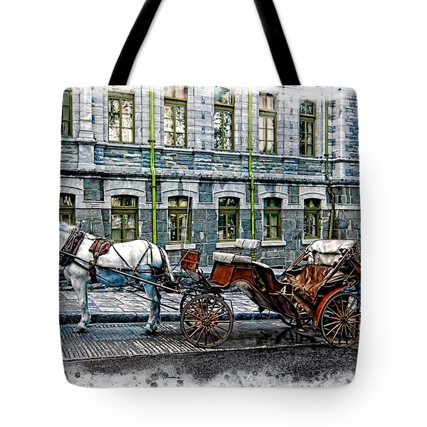 Carriage Rides Series 06 Tote Bag
